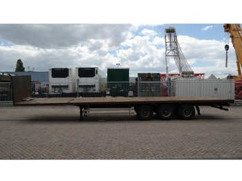 Flatbed semi-trailer Pacton 3 AXLE FLATBED TRAILER