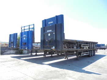 Pacton T3-001 - flatbed semi-trailer