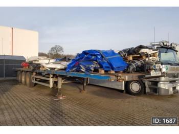 Pacton T3-001 - flatbed semi-trailer