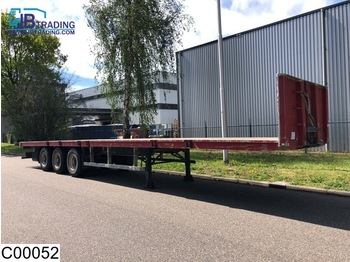 ROBUSTE open laadbak Steel suspension - flatbed semi-trailer