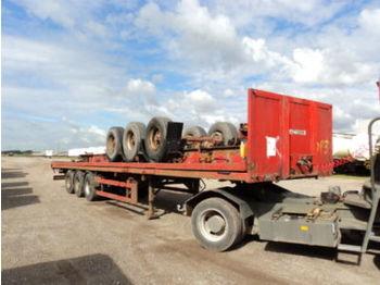SDC Plattform-Auflieger - flatbed semi-trailer
