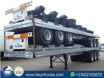 Flatbed semi-trailer Schmitz Cargobull S.HD. TWISTLOCKS twin tire full steel