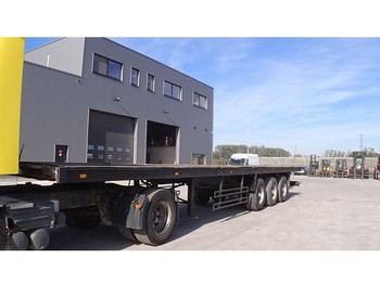 Trailor DRUM BRAKES/ FREINS TAMBOUR - flatbed semi-trailer