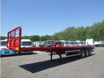 VSM 3-axle platform / container trailer 39 t / 12.3 m / NEW/UNUSED - flatbed semi-trailer