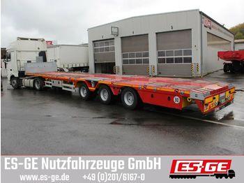 Flatbed semi-trailer Yalcin 3-Achs-Megatrailer - teleskopierbar