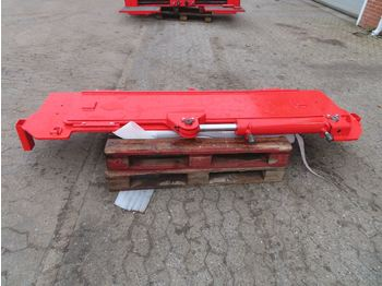 Semi-trailer Goldhofer Plade m/hydr. justering