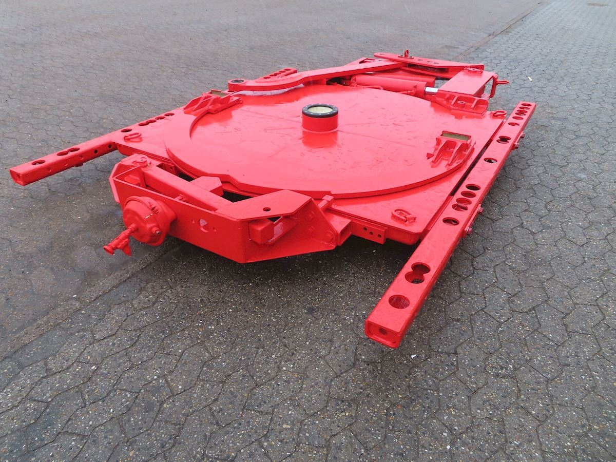 semi-trailer Goldhofer Selvsporings-udstyr
