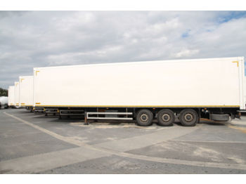 WIELTON NS34 KOFFER CONTAINER 10 UNITS - isothermal semi-trailer