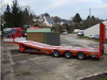 Faymonville avec table elevatrice low loader semi trailer for Table elevatrice