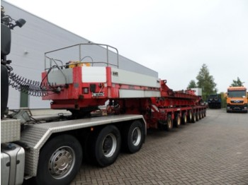 Goldhofer THP-L 9 axle Lines + Goosneck + 2 Loading Beds - low loader semi-trailer