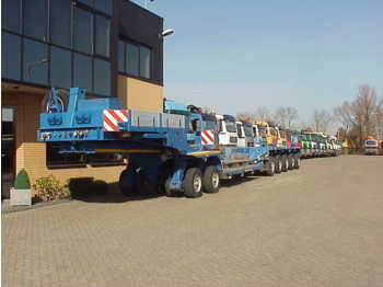 Goldhofer scheuerle smdel tp 2 + 5 lowloader  - low loader semi-trailer