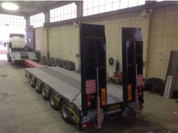Low loader semi-trailer LIDER 2017 model new by manufacturer Lider Trailer