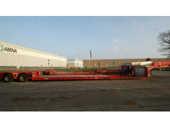 Low loader semi-trailer Nooteboom Tiefbett auflieger, gut für boot transport: picture 1
