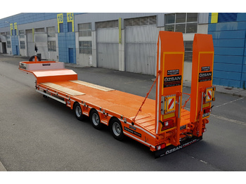 OZSAN TRAILER 3 AXLE LOW LOADER NORMAL /EXTENDABLE  (OZS - L3) - low loader semi-trailer
