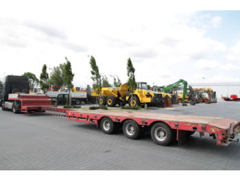 STOKOTA 3 AXLE EXTENDABLE LOW LOADER S3U.N1-02 - low loader semi-trailer