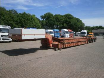 Trayl-Ona Semi-lowbed modular trailer / extendable 31 m - low loader semi-trailer