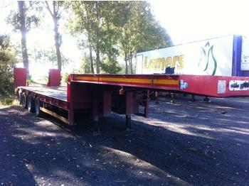 Low loader semi-trailer BERTOJA SR 79 P