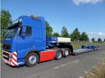 Broshuis 3ABD-48 - Extendable Low Loader - low loader semi-trailer