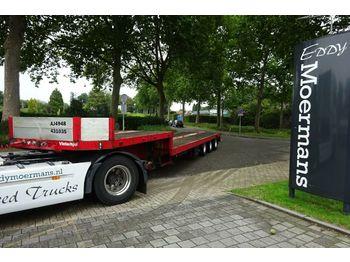 Low loader semi-trailer Broshuis 3 achser