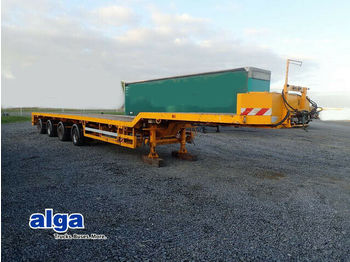 Broshuis 4 AOU-58-3-15, defekt, normal doppelt teleskop.  - low loader semi-trailer