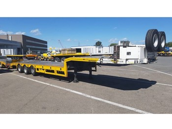 Broshuis E-2190/27 6m extendable (2 pieces) - low loader semi-trailer