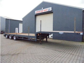 Broshuis Semi loader 12 mtr + 5.00 extendable - low loader semi-trailer
