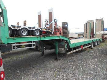Low loader semi-trailer Castera