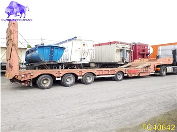 Low loader semi-trailer Castera Low-bed