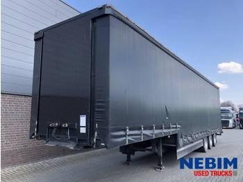 DIV. Netam-Fruehauf ONCZ 39 327 A - SEMI LOW LOADER - low loader semi-trailer