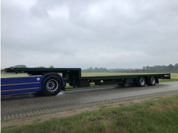 DRACO Draco 2 axle steering !! gelenkt !! complet refrech - low loader semi-trailer