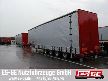 Low loader semi-trailer Dinkel 4-Achs-Jumbotieflader - Flügeltüren