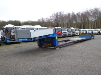 Low loader semi-trailer Doll 3-axle lowbed trailer T3H-S3F/25 / 65 t / 3 steering axles