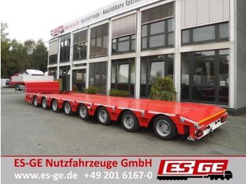 ES-GE 8-Achs-Satteltieflader in Niedrigbauweise  - low loader semi-trailer