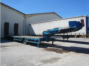 FAYMONVILLE PORTE ENGINS 4 ESSIEUX  69 TONNES - low loader semi-trailer