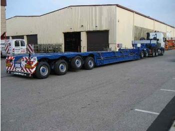 Faymonville 2 + 4 Tiefbett-Kombination - low loader semi-trailer