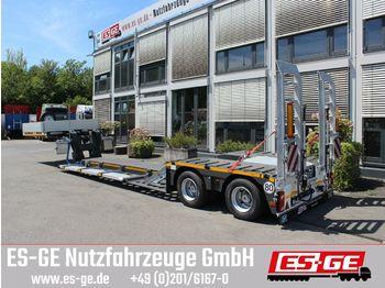 Low loader semi-trailer Faymonville 2-Achs-Tiefbett MAX510 (Forst)