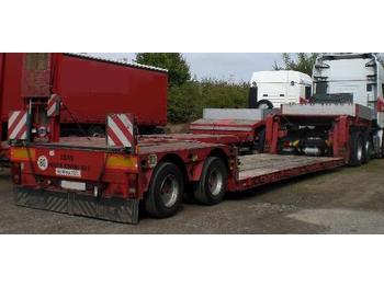 Faymonville 2-Achs-Tiefbett - teleskopierbar - low loader semi-trailer