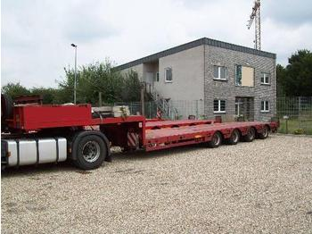 Faymonville 4-Achs-Satteltieflader - Niedrigbauweise - low loader semi-trailer