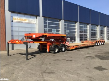 Low loader semi-trailer Faymonville 5-assige Euro dieplader + 2-assige Dolly Extendable Steering: picture 1