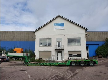 Faymonville Euro 3 - EXTENDABLE - MAX 17.6 Meter long - low loader semi-trailer