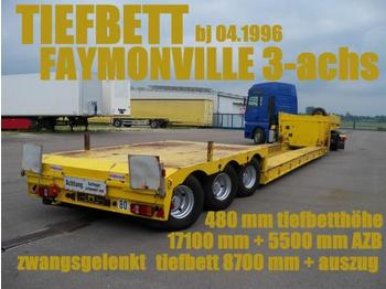 Faymonville FAYMONVILLE TIEFBETTSATTEL 8700 mm + 5500 zwangs - low loader semi-trailer