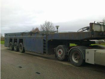 عربة مسطحة منخفضة نصف مقطورة Faymonville Innloader