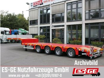 Faymonville MAX Trailer 4-Achs-Satteltieflader - tele  - low loader semi-trailer