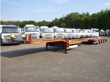 Faymonville STN-4AX 4-axle semi-lowbed trailer extendable 13.85m - low loader semi-trailer