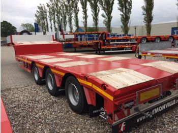 Faymonville tieflader 11.000 mm lang  - low loader semi-trailer