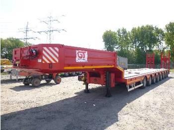 GURLESENYIL 124 Ton 8/Axle Extendable Semi - low loader semi-trailer