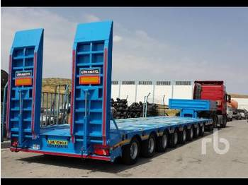 GURLESENYIL 124 Ton 8 Axles Extandable Lowbed S - low loader semi-trailer