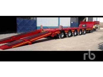 GURLESENYIL 75 TON 5 Axles Lowbed Semi Trailer - low loader semi-trailer