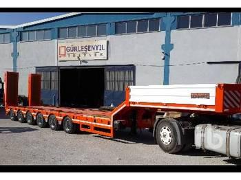 GURLESENYIL 87 TON 6 Axles Lowbed Semi Trailer - low loader semi-trailer