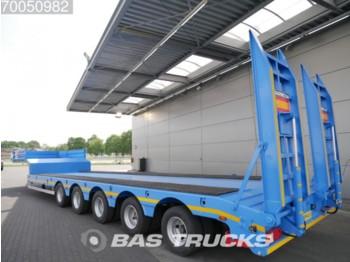 GURLESENYIL Liftachse 2x Lenkachse Hydro-Rampen GLY5 - low loader semi-trailer